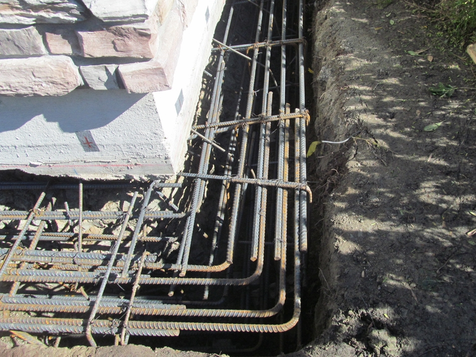 Perimeter Foundation Strengthening and Stiffening