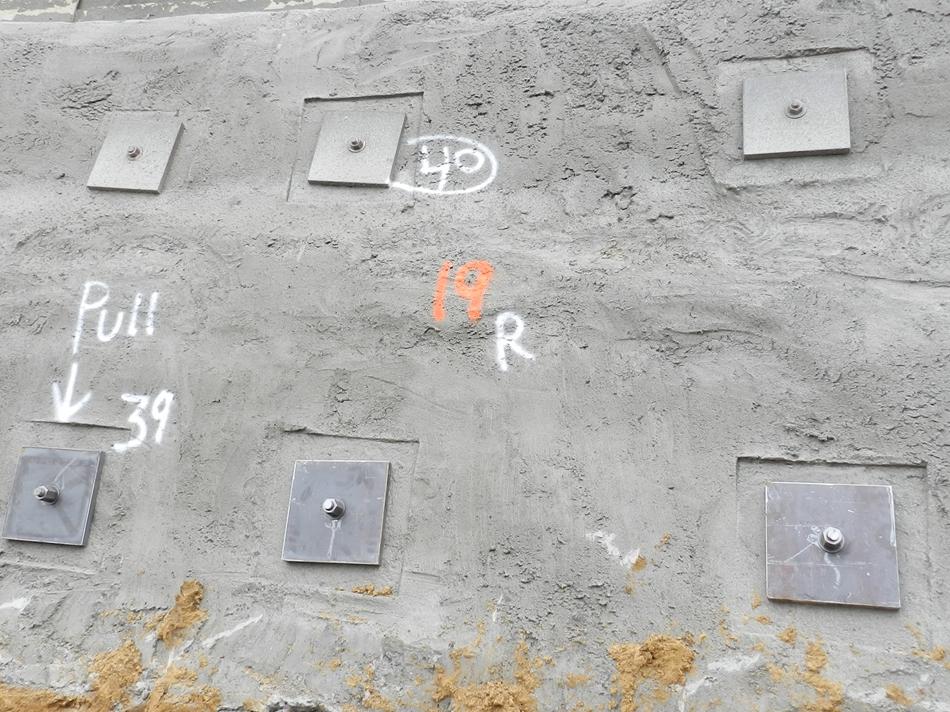 Block Retaining Wall Tie Backs : Retaining walls